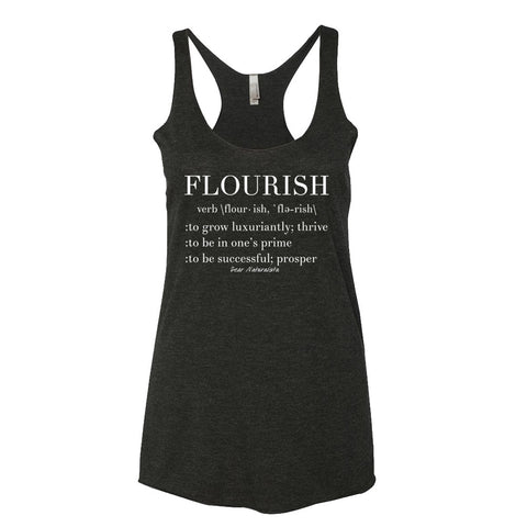 Women's Flourish Racerback Tank Top