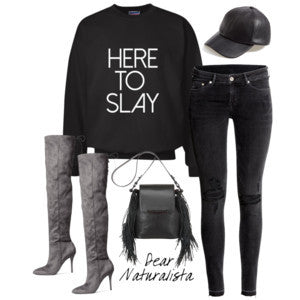 Here To Slay Sweatshirt