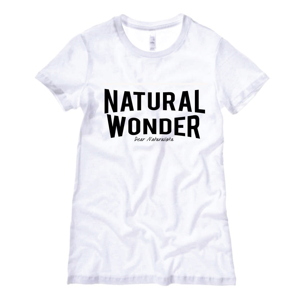 Women's Natural Wonder T-Shirt-White