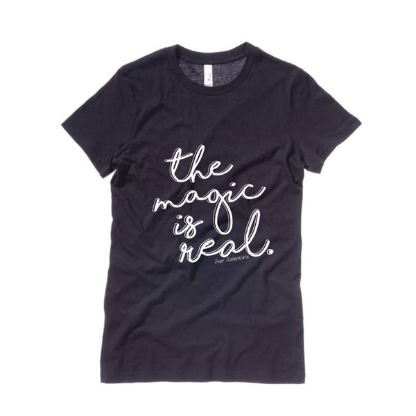 The Magic is Real Tee-Black