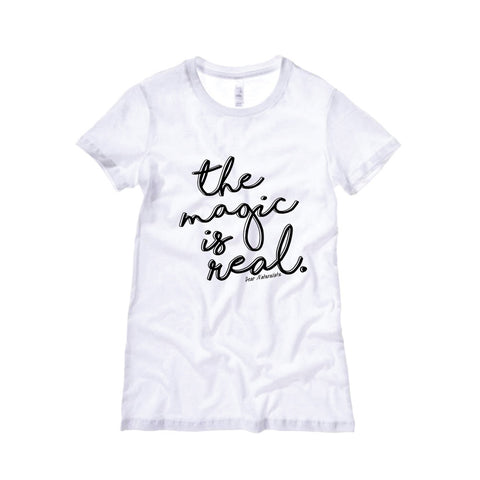 The Magic is Real T-Shirt-White