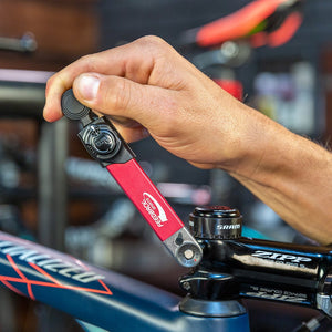 A torque wrench is a must for bicycle repair and maintenance