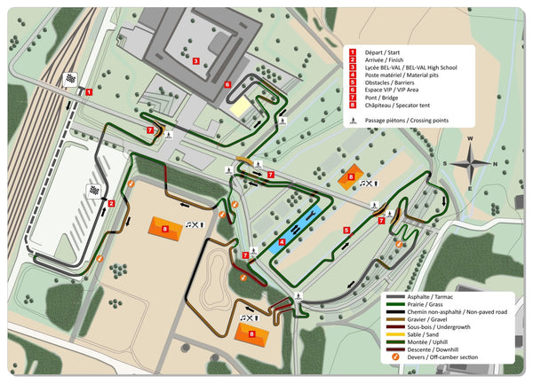 2017 cyclocross world championship course map