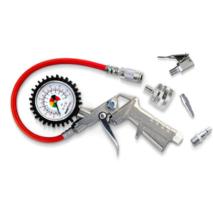 Prestacycle Prestaflator Professional Inflator for Compressors - RideCX cyclocross store