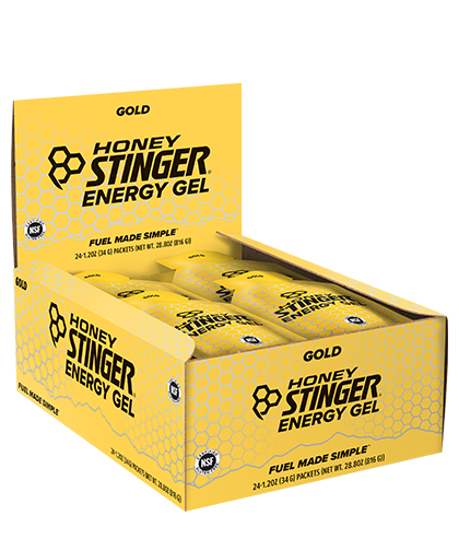 Honey Stinger Energy Gel Box of 24 - RideCX cyclocross store