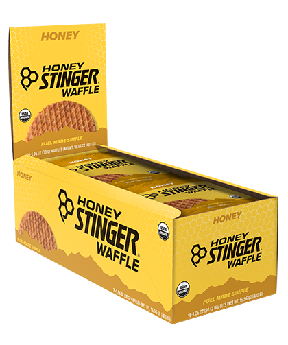 Honey Stinger Waffles, Box of 16 - RideCX cyclocross store