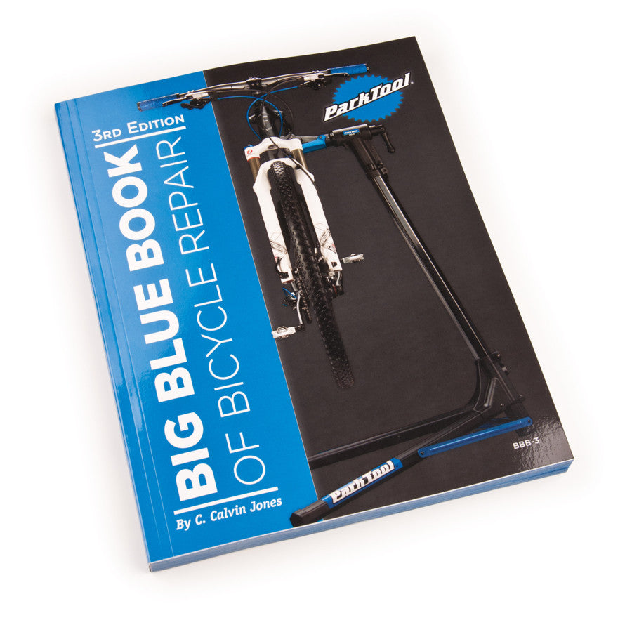 Park Tool BBB-3 Big Blue Book of Bicycle Repair - RideCX cyclocross store