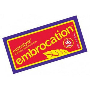 Chamois Butt'r Warm Eurostyle Embrocation, Single Use - RideCX cyclocross store