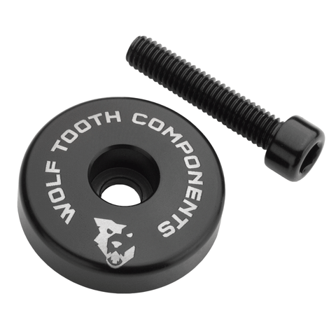 Wolf Tooth Components Ultralight Stem Cap with integrated spacer - RideCX cyclocross store