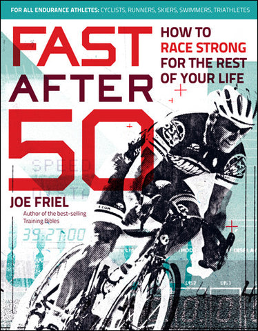 Fast After 50 Book by Joe Friel - RideCX cyclocross store