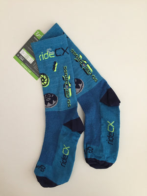 RideCX Cool Comfort Socks by Sock Guy - RideCX cyclocross store