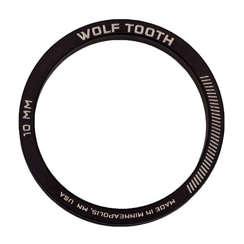 Wolf Tooth Components Precision Headset Spacer Kit - set of 3,5,10, and 15mm - RideCX cyclocross store
