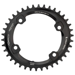 Wolf Tooth Elliptical 1x Chainring for Shimano GRX Cranksets - RideCX cyclocross store