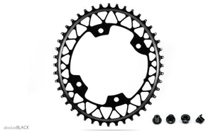 AbsoluteBLACK Oval Gravel Chainring for Shimano Cranksets