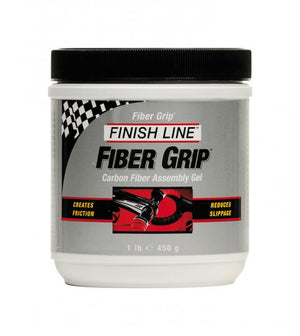Finish Line Fiber Grip Carbon Assembly Compound, 1lb Tub