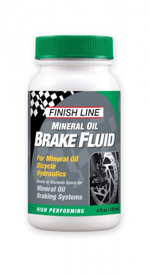 Finish Line Disc Brake Fluid, Mineral Oil, 40z - RideCX cyclocross store
