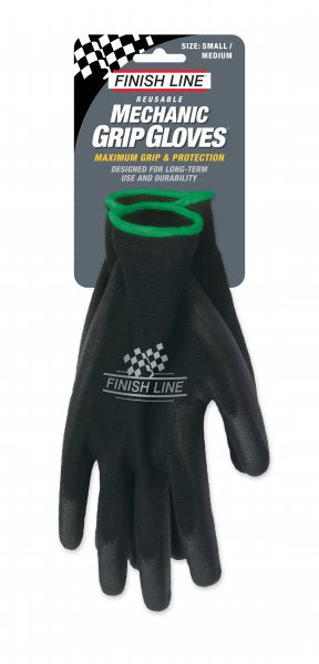 Finish Line Mechanic Grip Gloves - RideCX cyclocross store