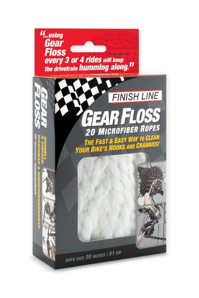 Finish Line Gear Floss Microfiber Ropes - RideCX cyclocross store
