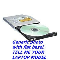 D7734 Dell DVD-RW Drive For Laptop  -  D7734