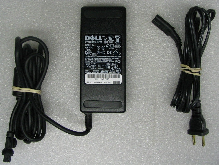 81407 Notebook Laptop Power Supply AC Adapter For Dell Latitude C500 Part: 81407