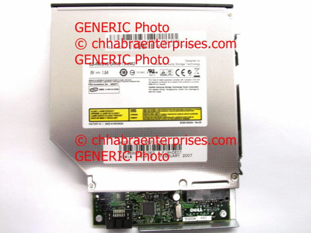 CDRW DVD COMBO DRIVE ASSY, FOR DELL OPTIPLEX SFF Gx745 SFF With SATA Board