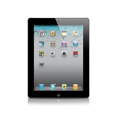Apple iPad 2nd Gen Black 16GB WiFi - A1395 MC769LL/A
