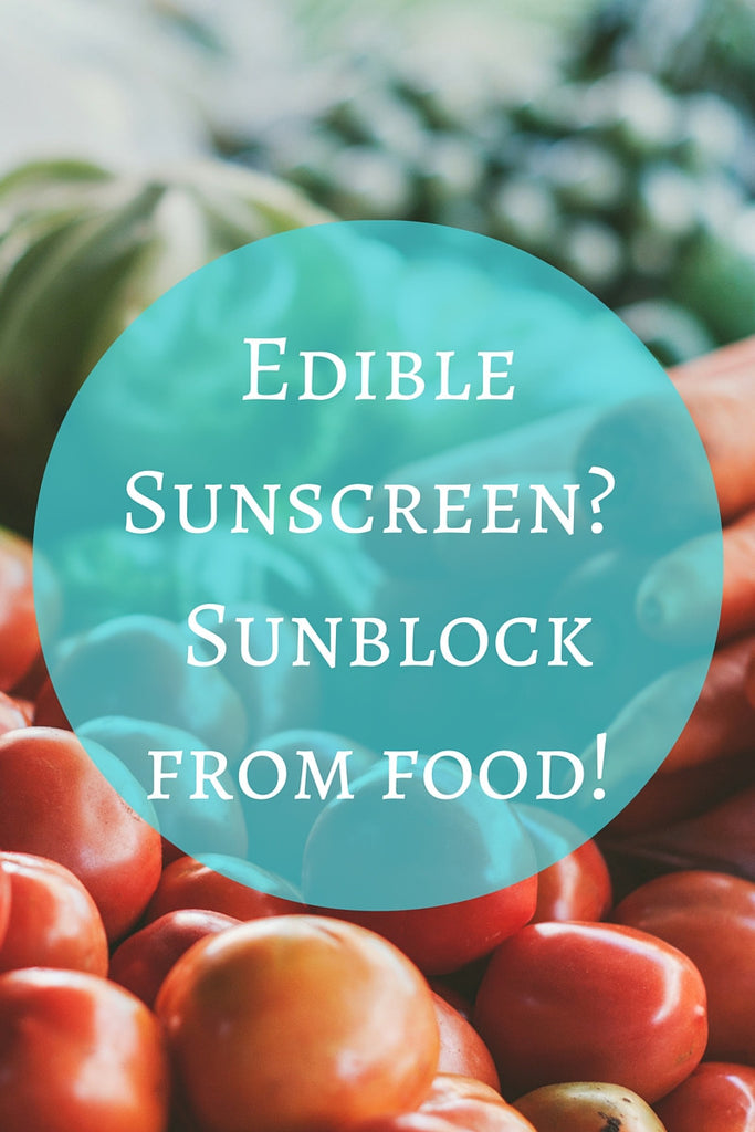 Edible Sunscreen - Sunblock from food!