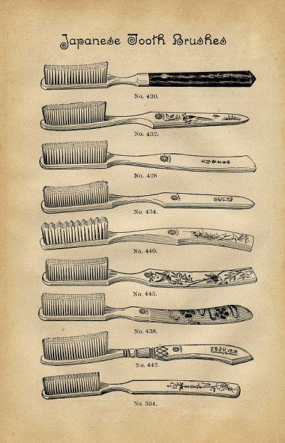 The History of the Toothbrush in Video
