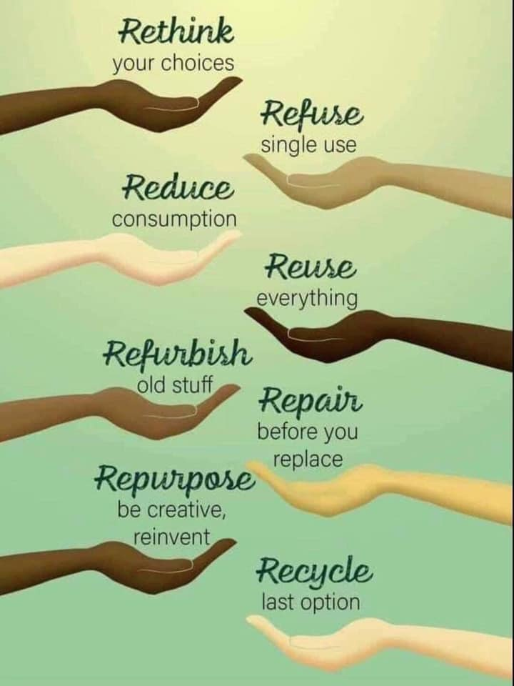 The 8 R's of the Environment + 3 More