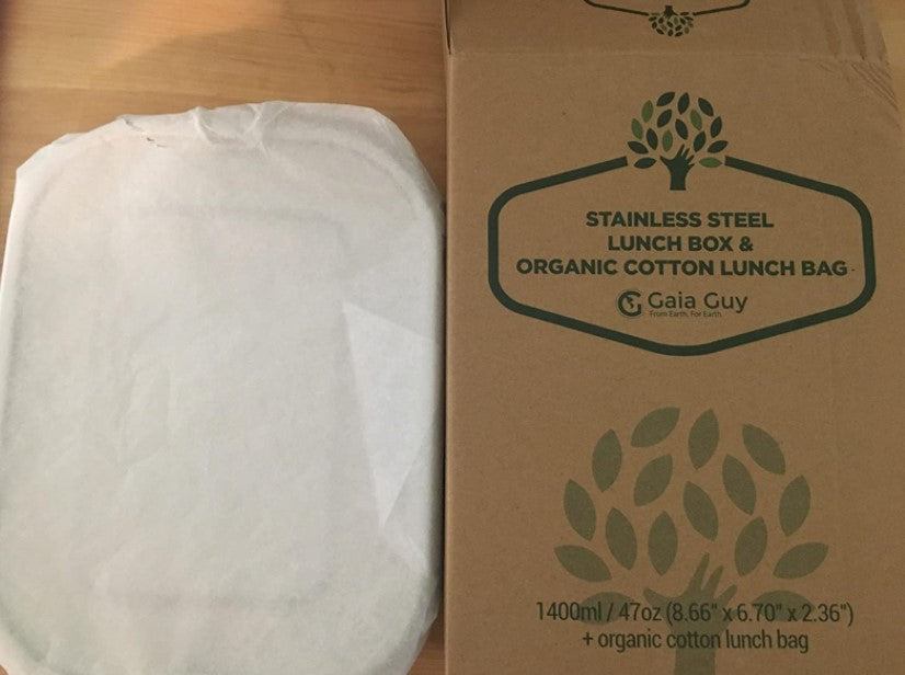 plastic-free lunch box packaging