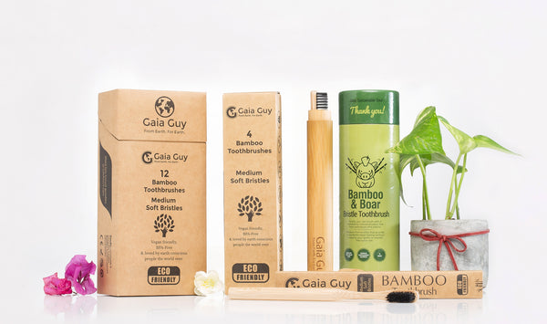 Bamboo Toothbrush - The Natural Toothbrush
