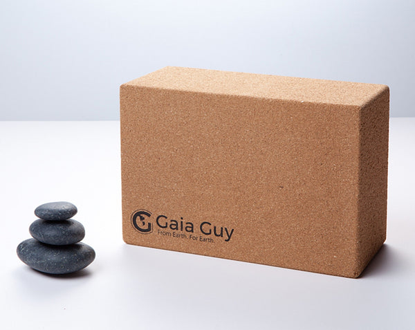 Cork Yoga Block - GaiaGuy