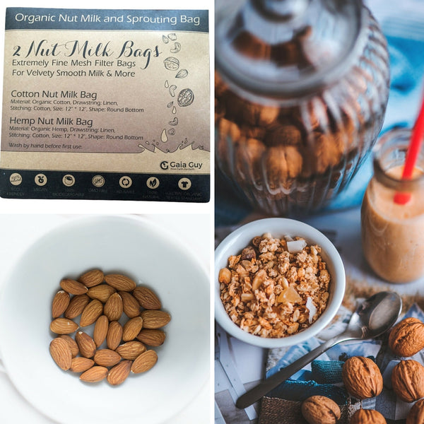 diy almond milk organic