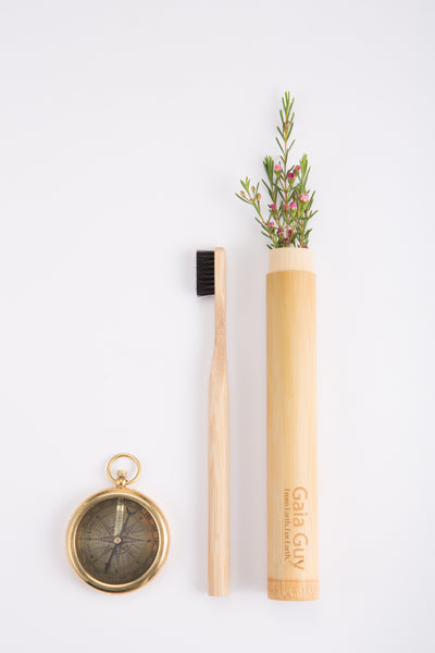 Bamboo Toothbrush Travel Case - The Sustainable Solution
