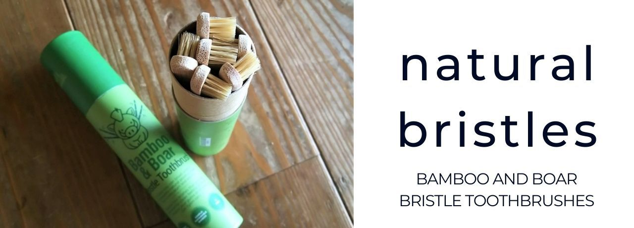 natural boar bristle toothbrushes