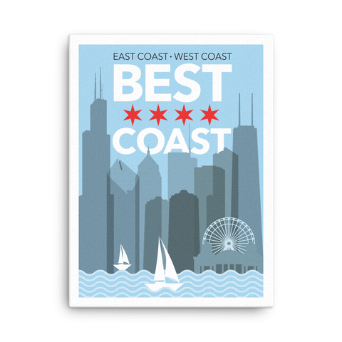 Chicago: Best Coast Canvas