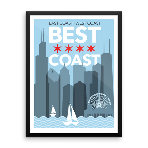 Chicago: Best Coast Print