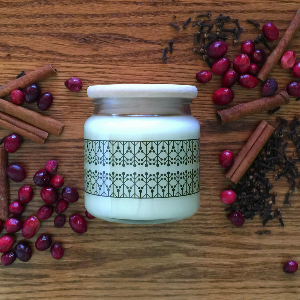 Mulled Cranberry Candle - PrairieMod
