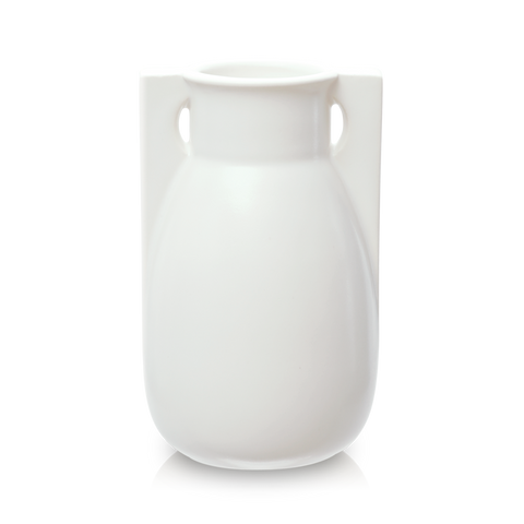 White 2 Buttress Vase