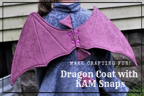Dragon Coat with KAM Snaps