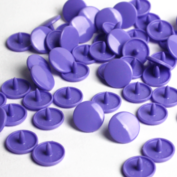 B28 Dark Lavender Gloss KAM® Snap Button