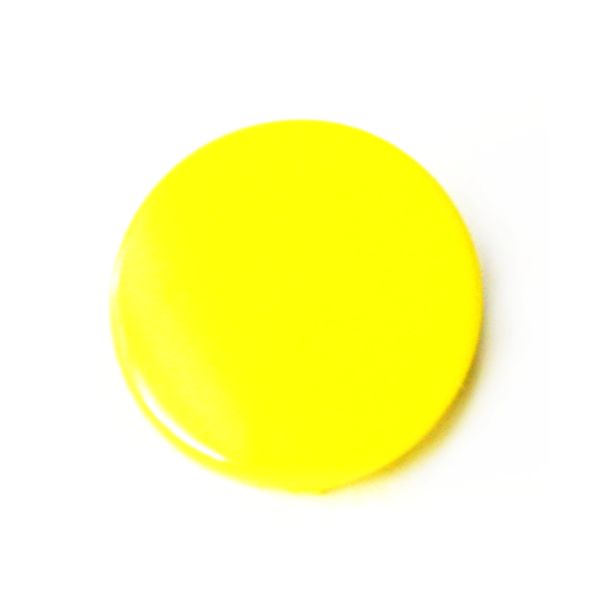 B07 Yellow Gloss KAM® Snap Button (Long Prong)