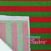 Candy Cane Stripes Bamboo Spandex Knit