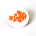 Clownfish Two-Toned Engraved Gloss KAM Snaps Size 20
