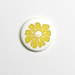 Flower Two-Toned Engraved Gloss KAM Snaps Size 20