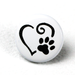 Paw Luv Two-Toned Engraved