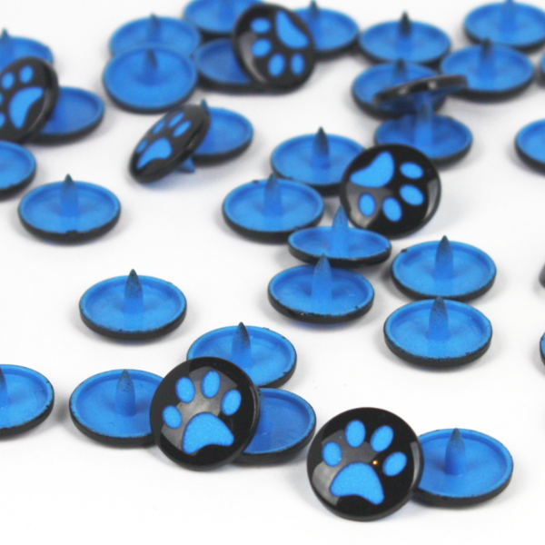 paw kam snap bright blue