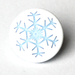Snowflake Two-Toned Engraved