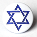 Star of David Two-Toned Engraved Gloss KAM Snaps Size 20