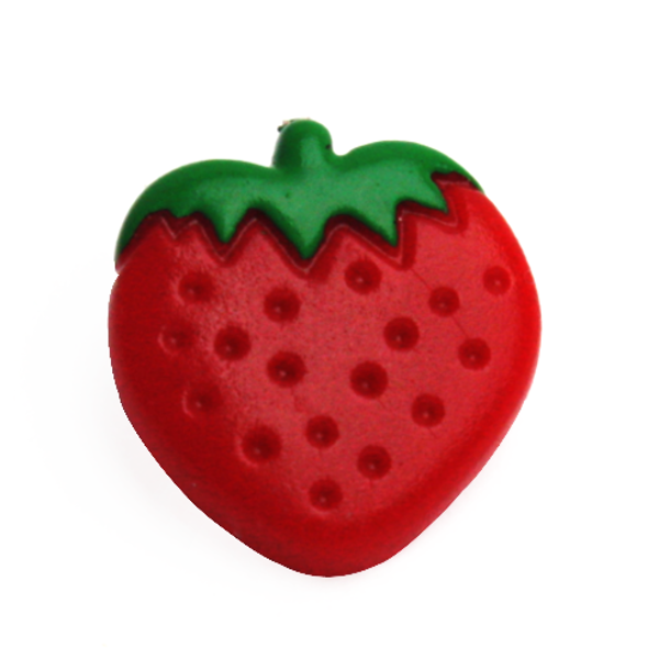 Strawberry KAM Snap Sz20 Short Prong